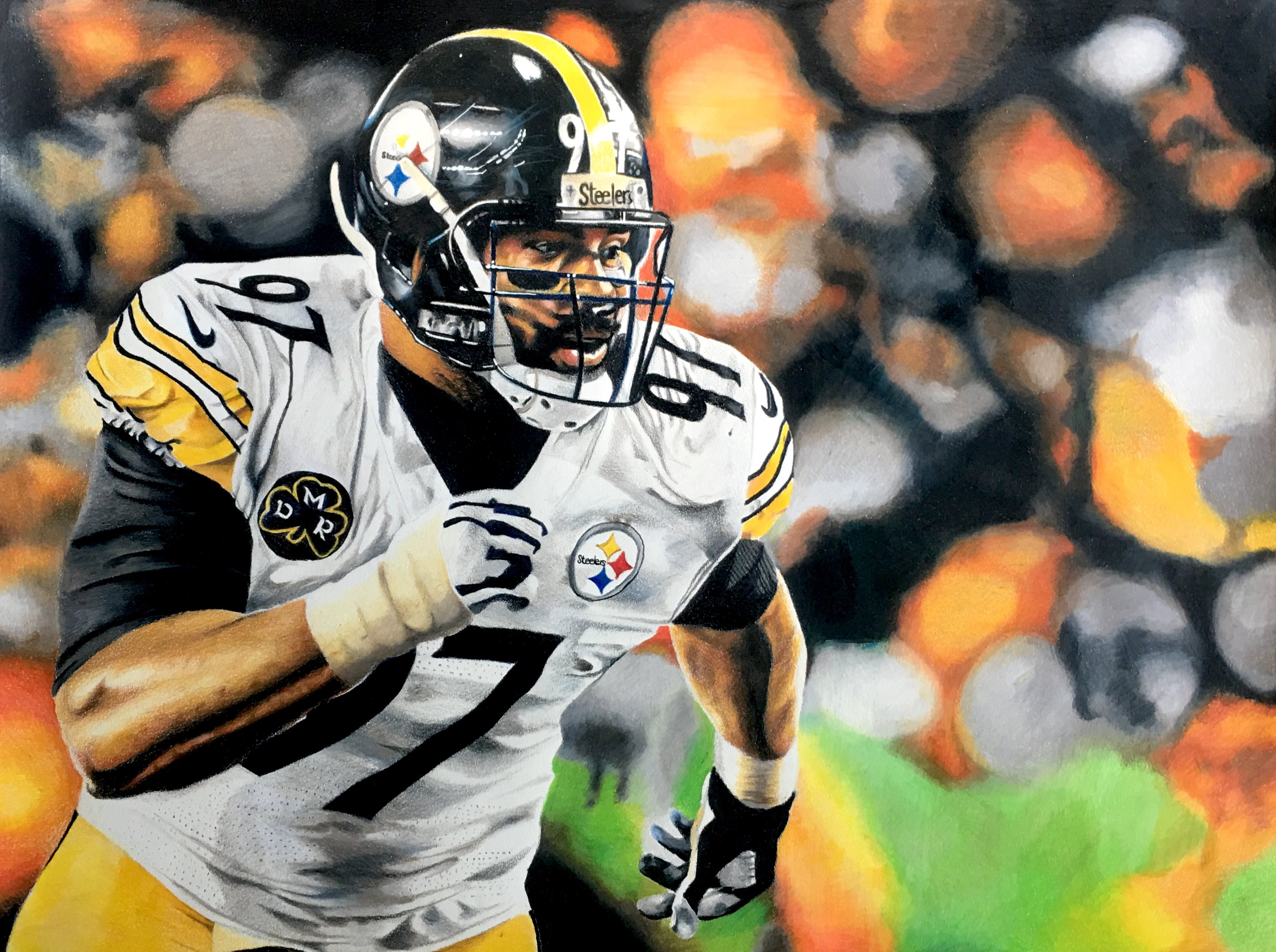 Cam Heyward Drawings Available!